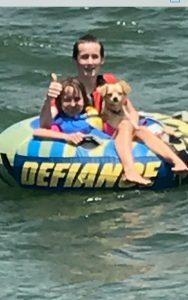 Enjoy a cruise around Lake Georgetown